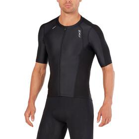 2XU Compression Koszulka triathlonowa Mężczyźni, black/black